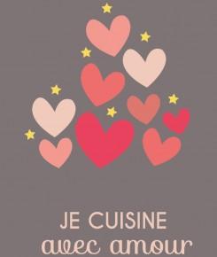 Je cuisine avec amour